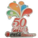 Impreso de metal personalizados de 50 años insignia de solapa para regalo (BD-020)