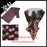 100% de Seda Moda Inverno Cravat Neckwear impresso