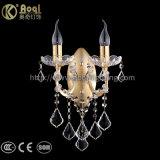 Heißes Verkaufs-Metallgoldenes Kristallleuchter-Licht