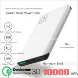 Colorful 10000mAh Aluminium Alloy Mobile Power Bank