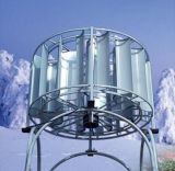 turbine de vent verticale d'axe du sur-Réseau 5kw monophasé (SHJ-NEW5000)