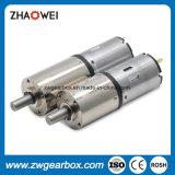 12V de alto torque e baixa rotação do motor DC com caixa de engrenagens