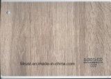 De houten Folie van pvc Deco van de Korrel voor Pers Bgl037-042 van het Membraan van het Meubilair/van het Kabinet/van de Deur de Hete Gelamineerde/Vacuüm