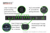 Schakelaar van de Overdracht van de familie de Binnen Automatische voor het Systeem van de Macht (lsts-16A 110VAC 7 kring 2P)