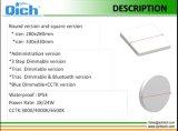 Plafonnier carré mince neuf de la qualité IP54 24W Untra DEL