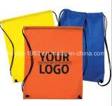 Sac de cordon fait sur commande bon marché/sac chaussure de cordon/Nonwoven (M.Y.D-019)