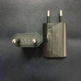 La fiche d'UE pour le noir du chargeur 1A d'UE USB de pouvoir de l'expert en logiciel USB de l'iPhone 4 4s 5 5s 5c charge des mobiles et de petits dispositifs