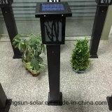 Indicatore luminoso solare del giardino con il sistema di energia solare