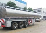 판매를 위한 45000 L 알루미늄 합금 연료 유조선 45cbm 연료 탱크 트럭 트레일러
