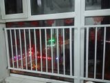 Het aangepaste Glijdende Venster van het Venster van het Profiel UPVC met Dubbel Glas Temepred