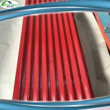 Ibrの販売のためのColorpulsによって波形を付けられる電流を通された金属の屋根ふきシート