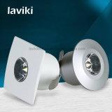 Vertiefter PFEILER Mini-LED Punkt-Schrank-Scheinwerfer mit 1With3W