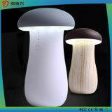 A luz de LED multifunções Banco de potência de cogumelos para carregador de telemóvel