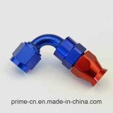 -06 Raccords de tuyaux en PTFE à 90 degrés Teflon