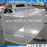 Half Cylinder Shape Acrylic Fish Tank