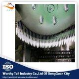 Esponja de algodón/máquina principales dobles de los brotes con 1600PCS Capicity