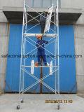Het veilige SGS Overgegaane Frame van het Staal van de Steiger voor Bouw