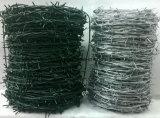 熱浸された電流を通されたとげがある鉄の鉄条網