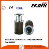 Filtro de petróleo de la pieza de automóvil para Mann 3771122m92/HD76