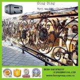 Grille de fer travaillé de portes de fer travaillé
