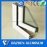 Les plus défunts profils d'extrusion d'alliage d'aluminium de porte de guichet de modèle avec l'enduit de poudre