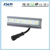 LED 선형 옥외 IP65 벽 세탁기 빛