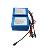 18650 paquete de la batería de litio de 24V 2300mAh para la batería de la E-Bici