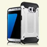Teléfono celular a granel caso con cubierta de doble capa para el Samsung Galaxy S7 S7edge