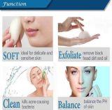 Venda por grosso de 100% natural de carvão de maquiagem Konjac esponja cosméticos Esponja esfoliante