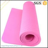 Couvre-tapis respectueux de l'environnement de yoga de bande de qualité commerciale d'assurance