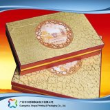 Presente/alimento/jóia luxuosa/caixa de empacotamento de papel cosmética com tampa macia