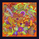Печатание цифров высокого качества шарф изготовленный на заказ Silk (F13- 0027)