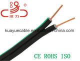 Рис8 Drop провод Idsl телефонный кабель и кабель компьютера/ кабель данных/ кабель связи/ разъем/ звуковой кабель