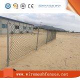 PVC上塗を施してあるチェーン・リンクの塀の熱い販売