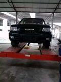 подъем автомобиля столба ручного отпуска 4 двойного цилиндра 4t гидровлический