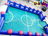 Надувной футбольный корт с ПВХ-дном