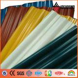 La couleur a enduit le matériau de construction en aluminium de bobine de feuille en aluminium de toiture