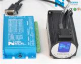 Fácil Operación Fase 2 NEMA 23 lazo cerrado paso Servomotor y controlador con encoder