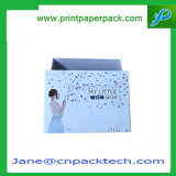 Kundenspezifischer erstklassiger überzogenes Papier-Kappen-u. Unterseiten-Schokoladen-verpackenkasten