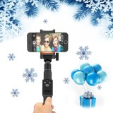 Tamanho Pocket da parte alta com a vara remota removível de Bluetooth Selfie
