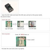 GPS Tracker Xt007W Tempo de espera longo, rastreamento preciso, suporte para redes 3G