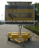 Cor ambarina do tamanho da alta qualidade sinal de tráfego variável da mensagem da grande com o em posição regulamentar e o de controle remoto