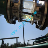 Descoramento sujo preto da limpeza do petróleo para amarelar a máquina da refinaria de petróleo