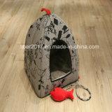 Japnese 디자인 애완 동물 고양이 운반대 감금소 침대 집 개집