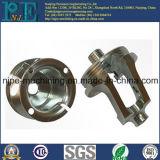 Pièces usinées de polissage faites sur commande de fonte d'aluminium de haute précision