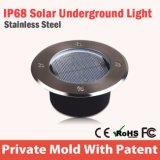 Lumière solaire souterraine LED de haute qualité pour jardin IP68