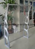Los soportes plásticos del toldo de la cortina de Sun utilizaron los toldos para la cubierta de la lluvia de la puerta principal de la venta (YY1500-H)