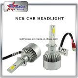 도매 공장 가격 40W 4000lm 12V 24V 6000k H1 H3 H4 H7 H9 H13 C6 차 LED 빛