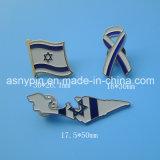 Различных размеров и формы в виде бабочки булавка для Израиля сувенирный флаг плоский дизайн карты логотип