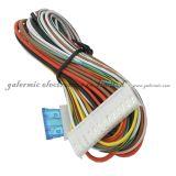 Porta central instantânea clara de advertência do diodo emissor de luz que trava o sistema pelo telecontrole